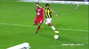 25 Ekim 2014 - Fenerbahce - Genclerbirligi, Alper Potuk, Ilk Penalti -4-