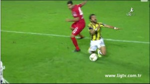 25 Ekim 2014 - Fenerbahce - Genclerbirligi, Alper Potuk, Ilk Penalti -6-