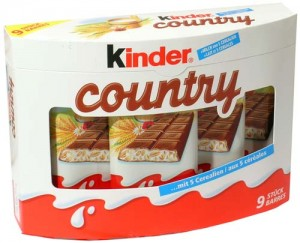Ferrero - Kinder - Country