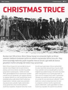 Christmas Truce, Mert Saribas, Hayatım Futbol, #158 - 29 Aralık 2014 -01-