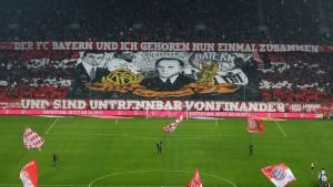 Kurt Landauer Kareografisi - 2.2.2014 Bayern - Eintracht Frankfurt