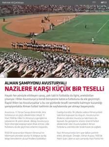 Nazilere Karsi Kucuk Bİr Teselli, Mehmet Ali Cetinkaya, Hayatim Futbol, #159 - 9 Ocak 2015 -01-