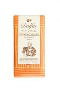 Dolfin - Milk Chocolate with Masala Chai aka Masala Cayli Sutlu Cikolata y38