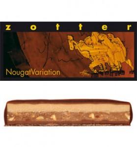 Zotter - NougatVariation-(Dark Cikolatali, Badem ve Findik Nugatli)