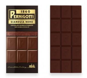 Pernigotti – Gianduia Nero – Gianduia Nut Chocolate With Hazelnuts (Findik Kremalı Findikli)