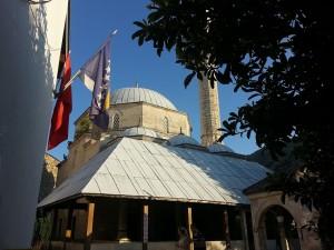 12 Temmuz 2015, Koski Mehmed Pasa Cami aka Koski Mehmed-pasina Dzamija aka Koski mehmed Pasha Mosque, Mostar, Bosna-Hersek -02-