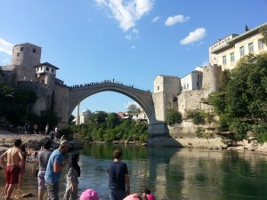 12 Temmuz 2015, Mostor Koprusu, Mostar, Bosna-Hersek -02-