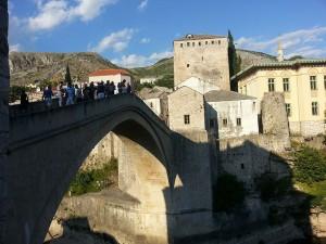 12 Temmuz 2015, Mostor Koprusu, Mostar, Bosna-Hersek -03-