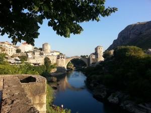 12 Temmuz 2015, Mostor Koprusu, Mostar, Bosna-Hersek -04-