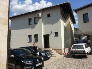 12 Temmuz 2015, Pansion Nur, Mostar, Bosna-Hersek