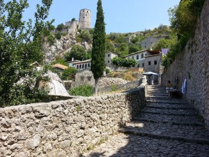 13 Temmuz 2015, Gavrankapetan Kulesi, Pociteli (Pocitelj), Bosna-Hersek -01-