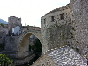 13 Temmuz 2015, Mostor Koprusu, Mostar, Bosna-Hersek -02-