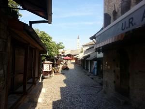 13 Temmuz 2015, Old Town, Mostar, Bosna-Hersek -01-