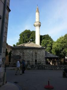 13 Temmuz 2015, Ruznameci Ibrahim Efendi Cami aka Roznamedzi Ibrahim-efendije Dzamija aka Roznamedzi Ibrahimefendi Mosque, Mostar, Bosna-Hersek