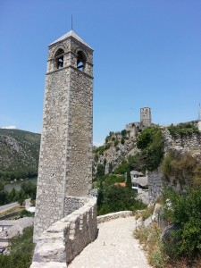 13 Temmuz 2015, Saat Kulesi, Pociteli (Pocitelj), Bosna-Hersek