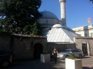14 Temmuz 2015, Karagoz Mehmed Bey Cami, Mostar, Bosa-Hersek