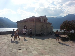14 Temmuz 2015, Our Lady of the Rocks Adasi, Perast, Karadag -01-