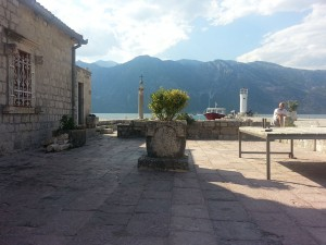 14 Temmuz 2015, Our Lady of the Rocks Adasi, Perast, Karadag -02-
