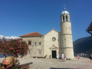 14 Temmuz 2015, Our Lady of the Rocks Adasi, Perast, Karadag -03-
