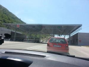 14 Temmuz 2015, Trebinje, Bosna Sinir Kontrol Noktasi, Bosna-Hersek