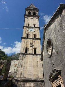 14 Temmuz 215, Aziz Nicholas Can Kulesi, Perast, Karadag -01-