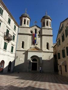 15 Temmuz 2015, Aziz Nicholas Sirp Ortodoks Kilisesi, Old Town, Kotor