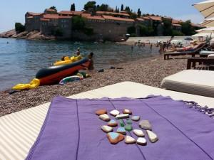 15 Temmuz 2015, Deniz Fayansi, Sveti Stefan, Karadag