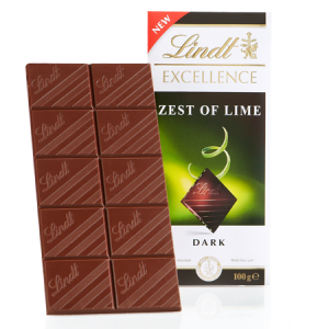 Lindt – Excelence –Lime Intense (Yogun Lime - Misket Limonu)