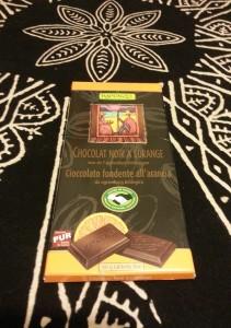 Rapunzel - Chocolat Noir a lOrange (55 Kakaolu Portakalli Organik)