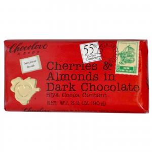 Chocolove - Dark Chocolate With Cherries And Almonds