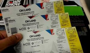 Oh Land - Ankara Nordik Festivali Bilet