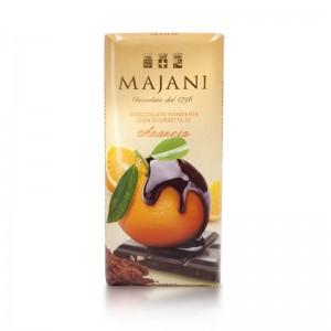 Majani - Cioccolato Fondente Con Scorzette Di Arancia (%53 Kakaolu Portakalli)