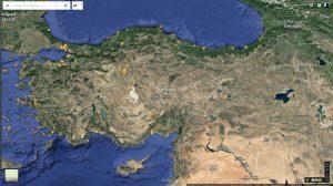 27 Mayis 2016 - Gezdigim Yerler (Turkiye)