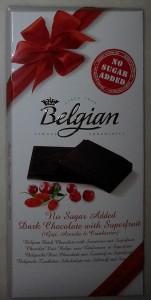 The Belgian – Goji Berry, Acerola Cherry And Cranberries aka Sekersiz, %54 Kakaolu Kurt Uzumlu, Barbados Kirazli ve Cranberili