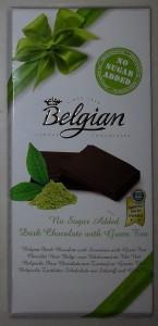 The Belgian – Green Tea aka Sekersiz, %54 Kakaolu Yesil Cayli