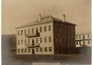 Anadolu Koleji'nin Kutuphane - Muze Binasi, Merzifon, Takribi 1913, SALT Arastirma