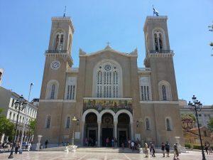 12 Temmuz 2016 - Atina Metropolitan Katedrali, Atina, Yunanistan