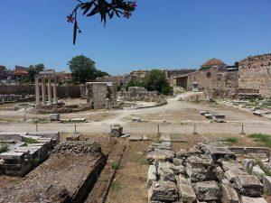 12 Temmuz 2016 - Hadrian's Library, Atina, Yunanistan -01-