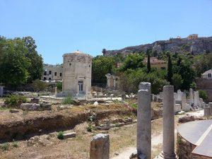 12 Temmuz 2016 - Hadrian's Library, Atina, Yunanistan -02-