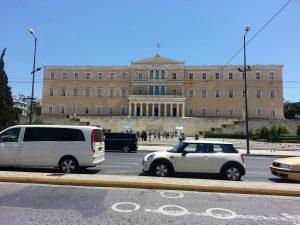 12 Temmuz 2016 - Syntagma Meydani, Atina, Yunanistan