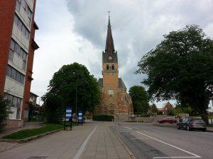 25 Temmuz 2016 - Gustav Adolfs Kilisesi, Boras, Isvec