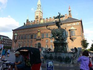 26 Temmuz 2016 - Ejderha Cesmesi, Kopenhag, Danimarka