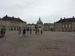 27 Temmuz 2016 - Amalienborg, Kopenhag, Danimarka
