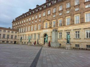 27 Temmuz 2016 - Christiansborg Sarayi (Christiansborg Palace), Kopenhag, Danimarka -01-