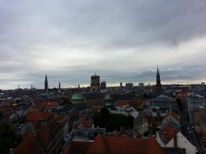 27 Temmuz 2016 - Doner Kule (Rundetaarn - Round Tower), Kopenhag, Danimarka -02-