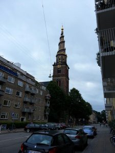 27 Temmuz 2016 - Kurtaricimiz Kilisesinin (Vor Frelsers Kirke - Church of Our Saviour), Kopenhag, Danimarka -02-