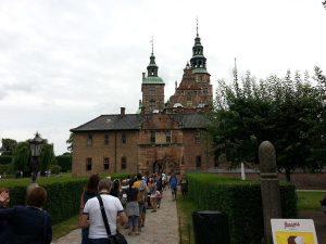 27 Temmuz 2016 - Rosenborg Kalesi (Rosenborg Castle), Kopenhag, Danimarka -01-