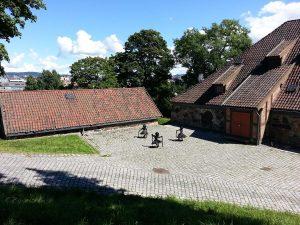 30 Temmuz 2016 - Akershus Kalesi (Akershus Fortress), Oslo, Norvec -04-