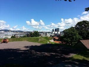 30 Temmuz 2016 - Akershus Kalesi (Akershus Fortress), Oslo, Norvec -05-