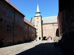 30 Temmuz 2016 - Akershus Kalesi (Akershus Fortress), Oslo, Norvec -08-